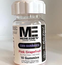 Medie Edie's Medie Edie's 10ct CBN Gummies Pink Grapefruit-5.mg.50mg