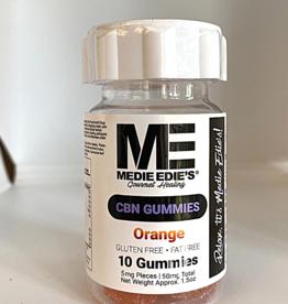 Medie Edie's Medie Edie's 10ct CBN Gummies Orange-5mg.50mg
