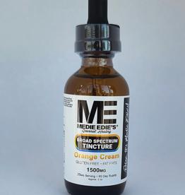 Medie Edie's 60ml Broad Spectrum Tincture  Orange Cream - 25mg.1500mg