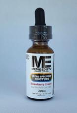 Medie Edie's Medie Edie's 30ml  Broad Spectrum Tincture  Strawberry Cream - 10mg.300mg
