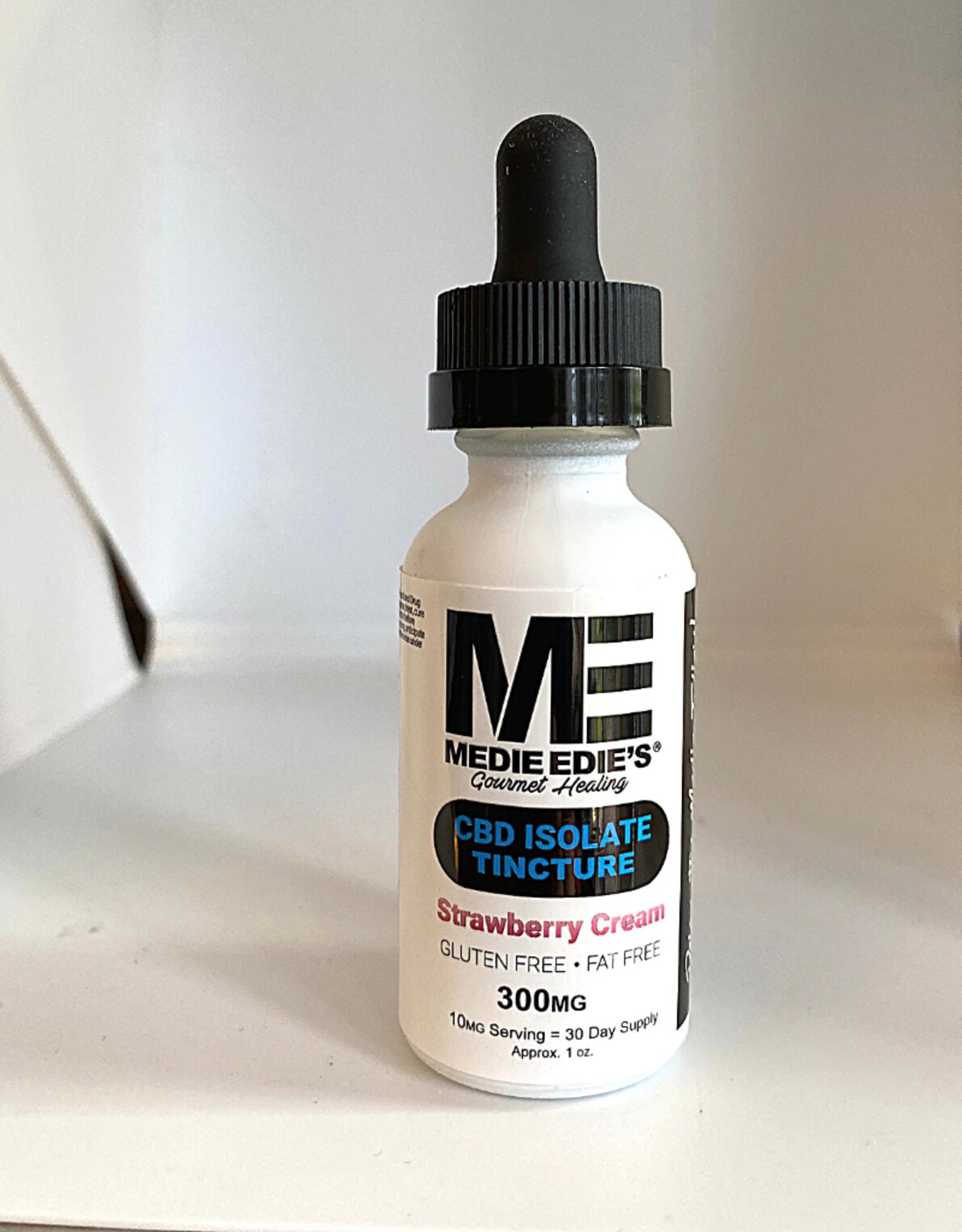 Medie Edie's Medie Edie's 30ml CBD Tincture Strawberry Cream-10mg.300mg