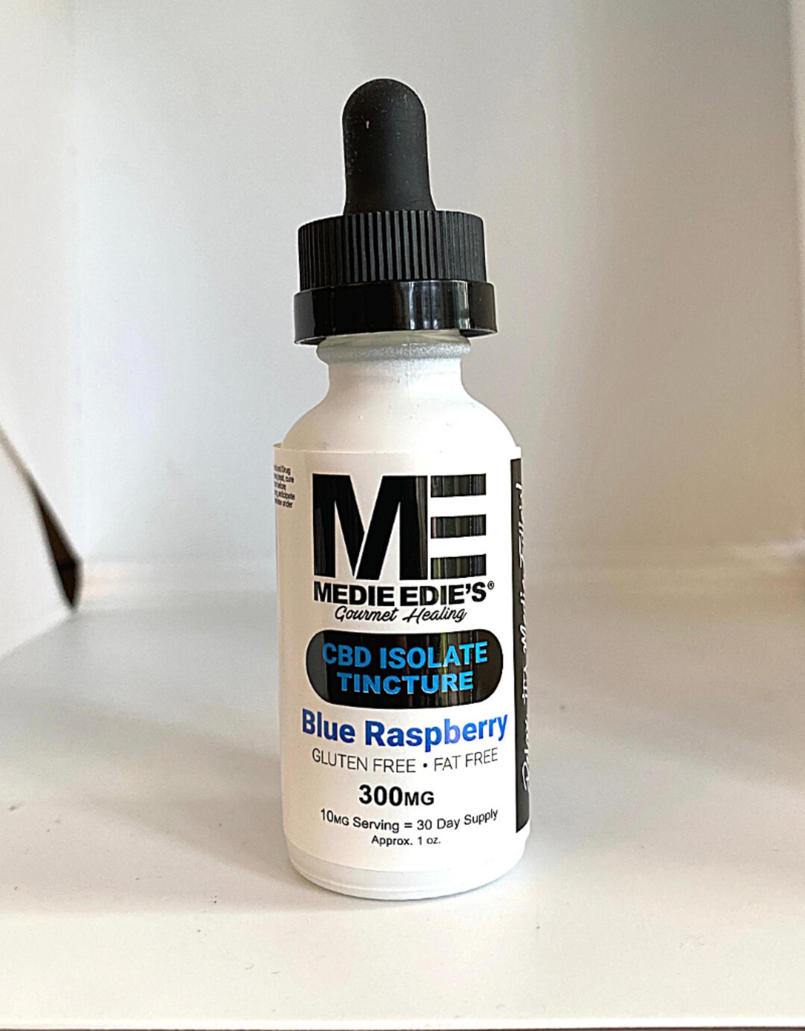 Medie Edie's Medie Edie's  30ml CBD Tincture Blue Raspberry - 10mg.300mg