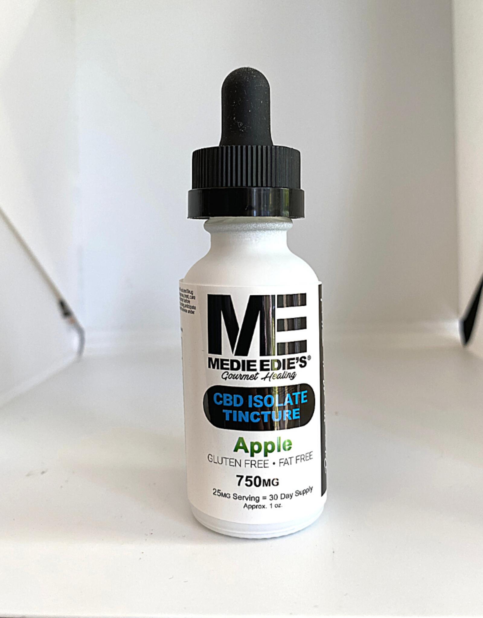 Medie Edie's Medie Edie's 30ml CBD Tincture Apple 25mg.750mg