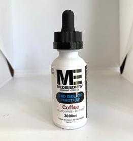 Medie Edie's 30ml  CBD Tincture Coffee- 100mg.3000mg