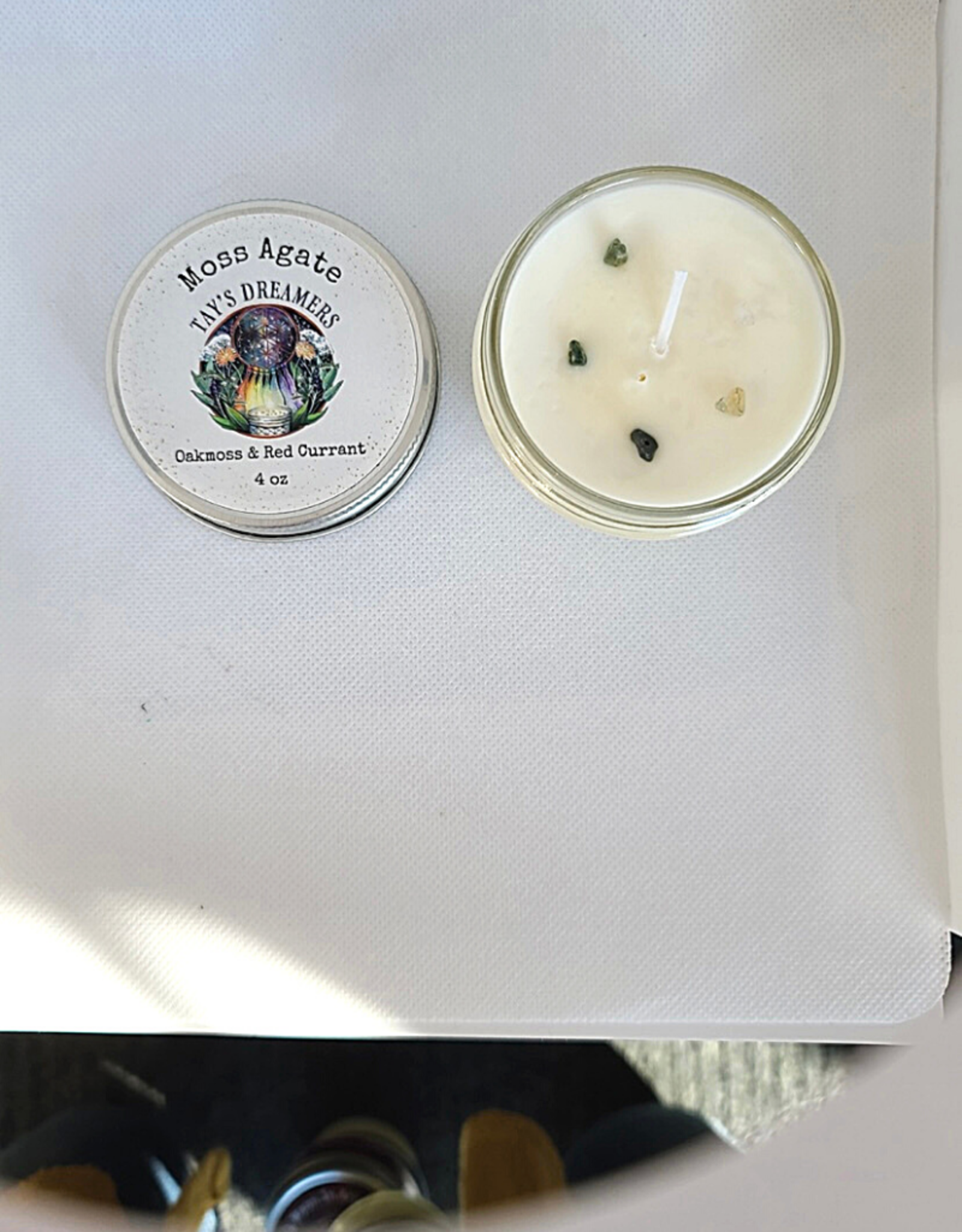 Tay's Dreamers - 4oz Candle Oakmoss & Red Currant