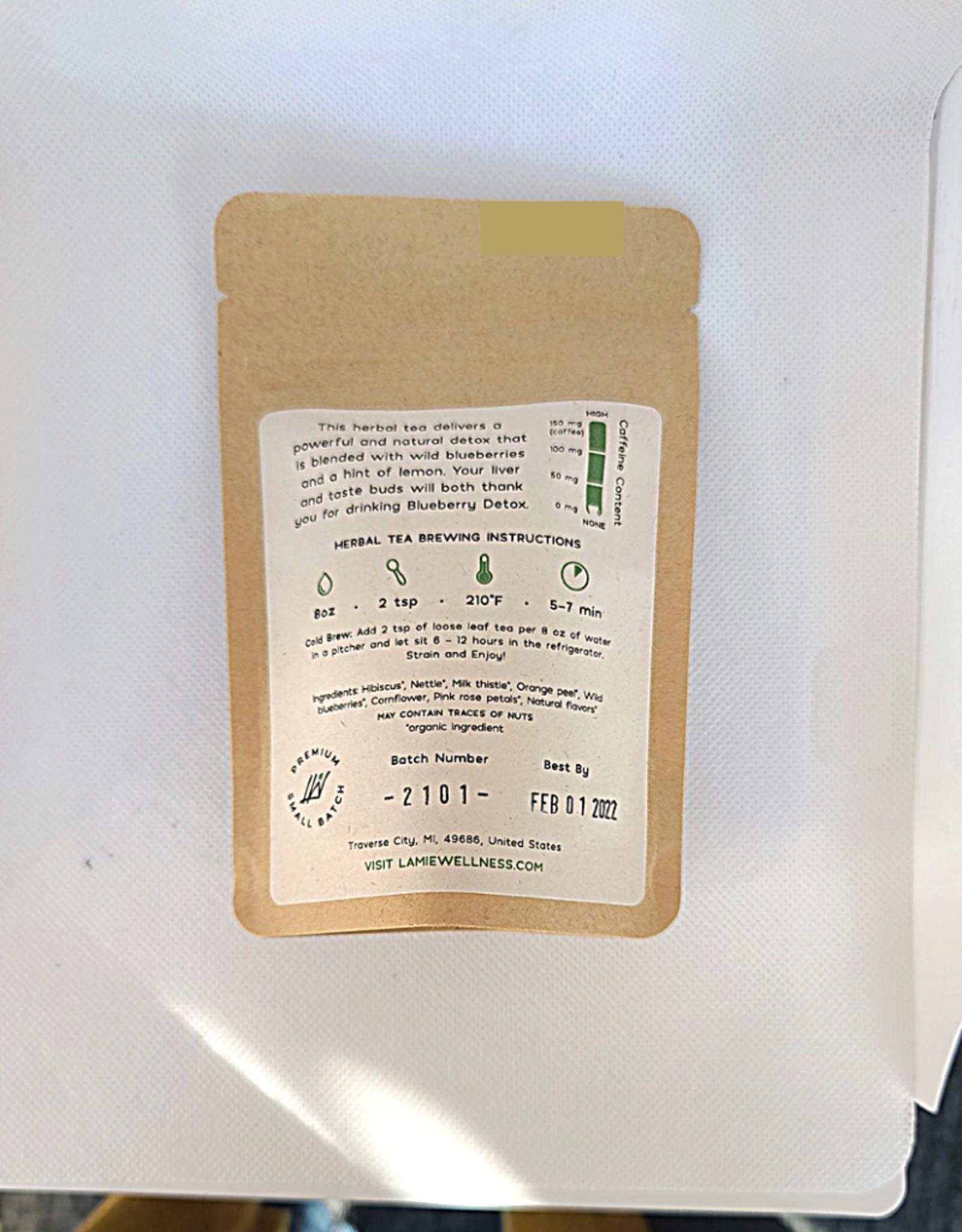 Lamie Wellness - Blueberry Detox Herbal Tea - 1oz