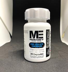 Medie Edie's Medie Edie's 30ct CBD Capsules Bottle -  25mg.750mg