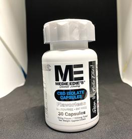 Medie Edie's Medie Edie's 30ct CBD Capsules Bottle -  50mg.1500mg