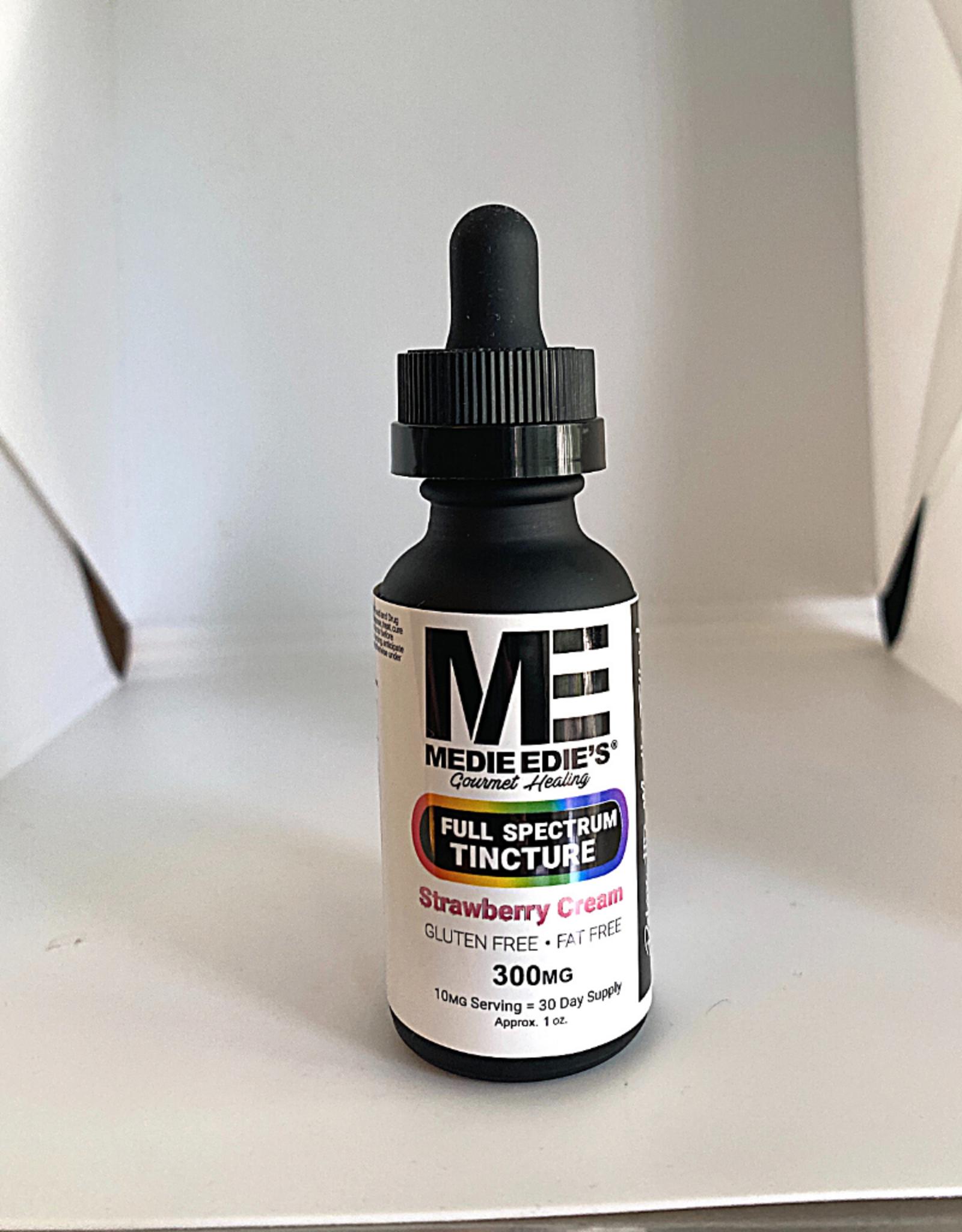 Medie Edie's Medie Edie's 30ml Full Spectrum Tincture  Strawberry Cream - 10mg.300mg
