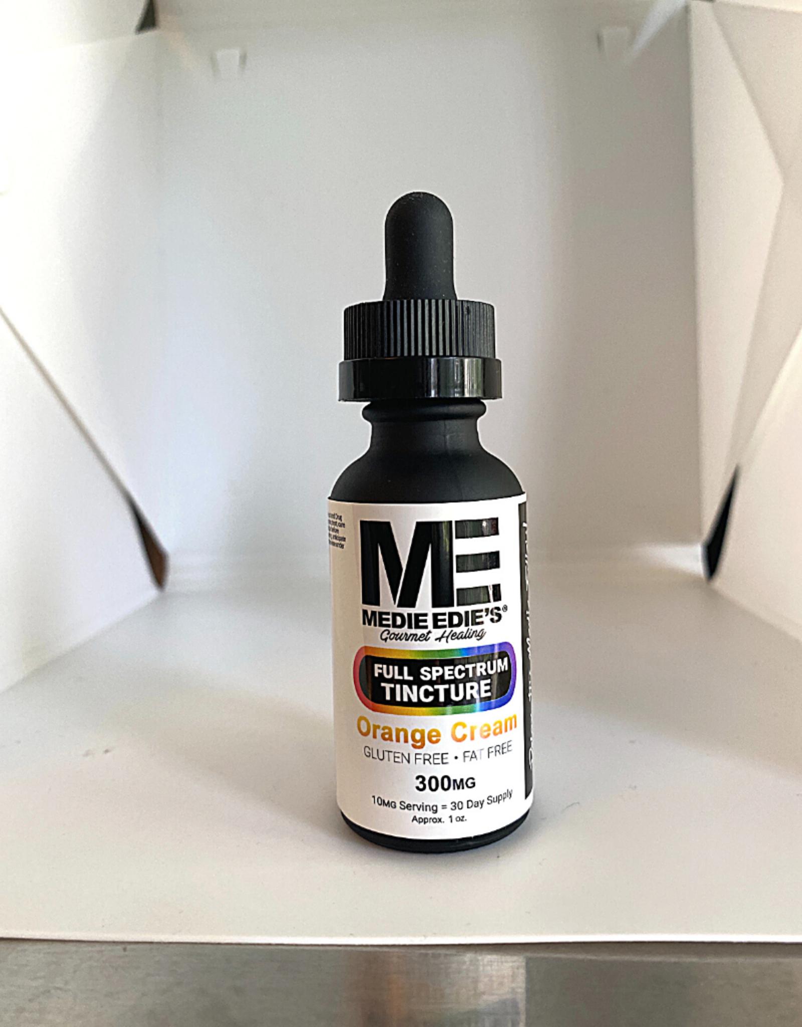 Medie Edie's Medie Edie's 30ml Full Spectrum Tincture  Orange Cream - 10mg.300mg