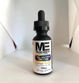 Medie Edie's 30ml Full Spectrum Tincture  Orange Cream - 10mg.300mg