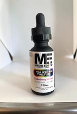 Medie Edie's Medie Edie's 30ml Full Spectrum Tincture Strawberry Cream - 25mg.750mg