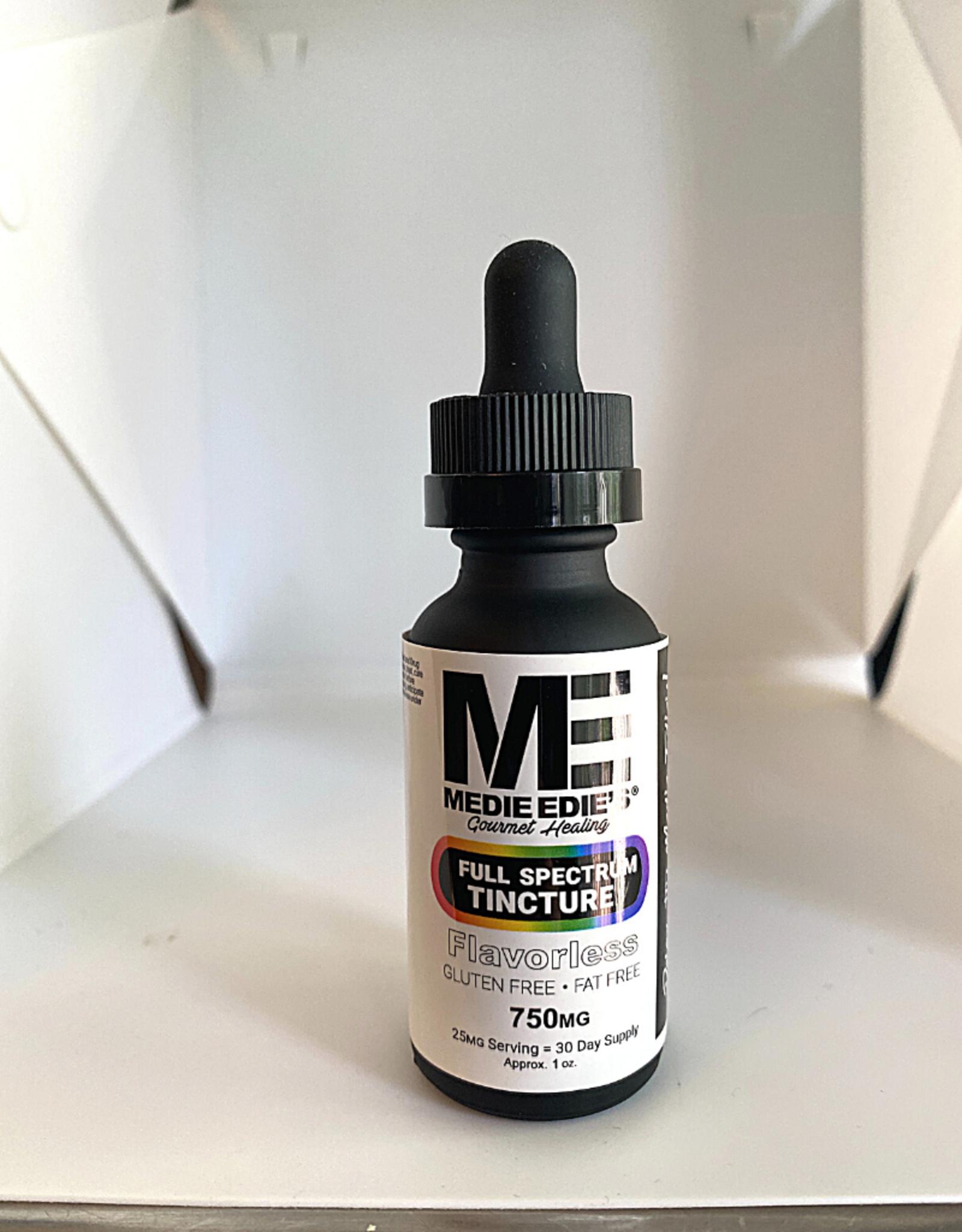 Medie Edie's Medie Edie's 30ml Full Spectrum Tincture Flavorless-25mg.750mg