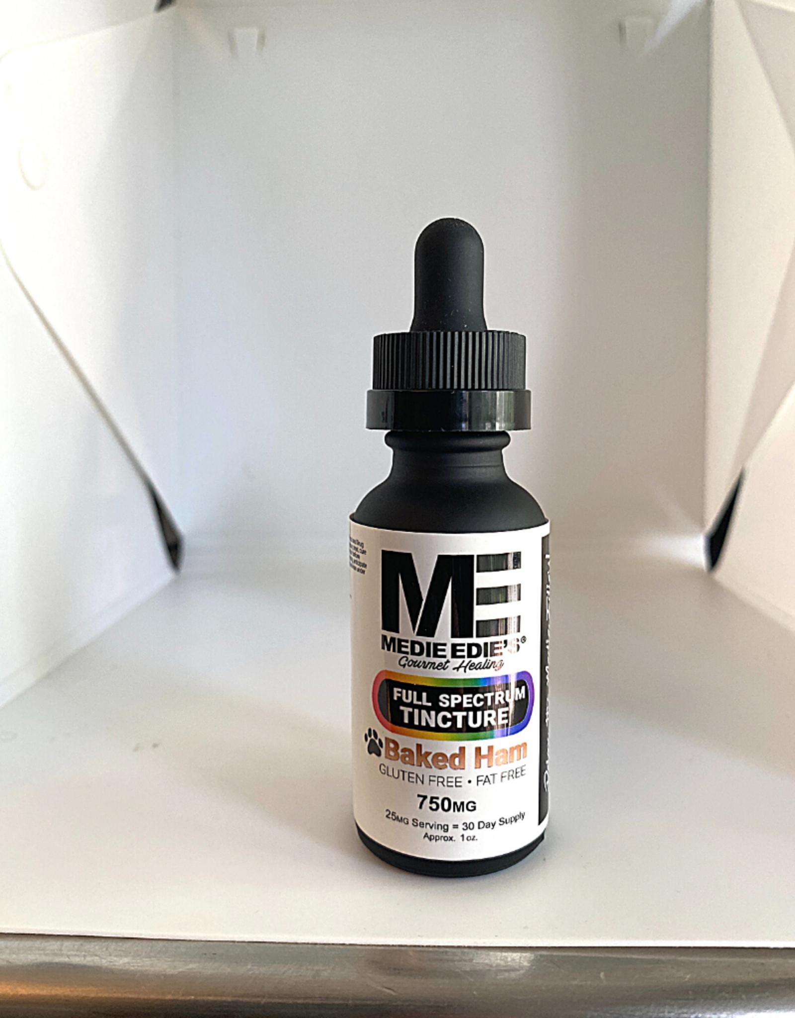 Medie Edie's Medie Edie's 30ml  Full Spectrum  Pet Tincture Baked Ham - 25mg.750mg
