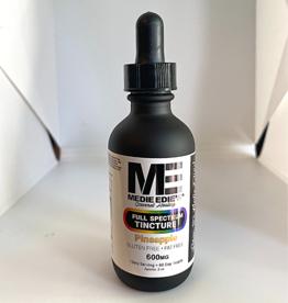 Medie Edie's 60ml Full Spectrum Tincture Pineapple - 10mg.600mg