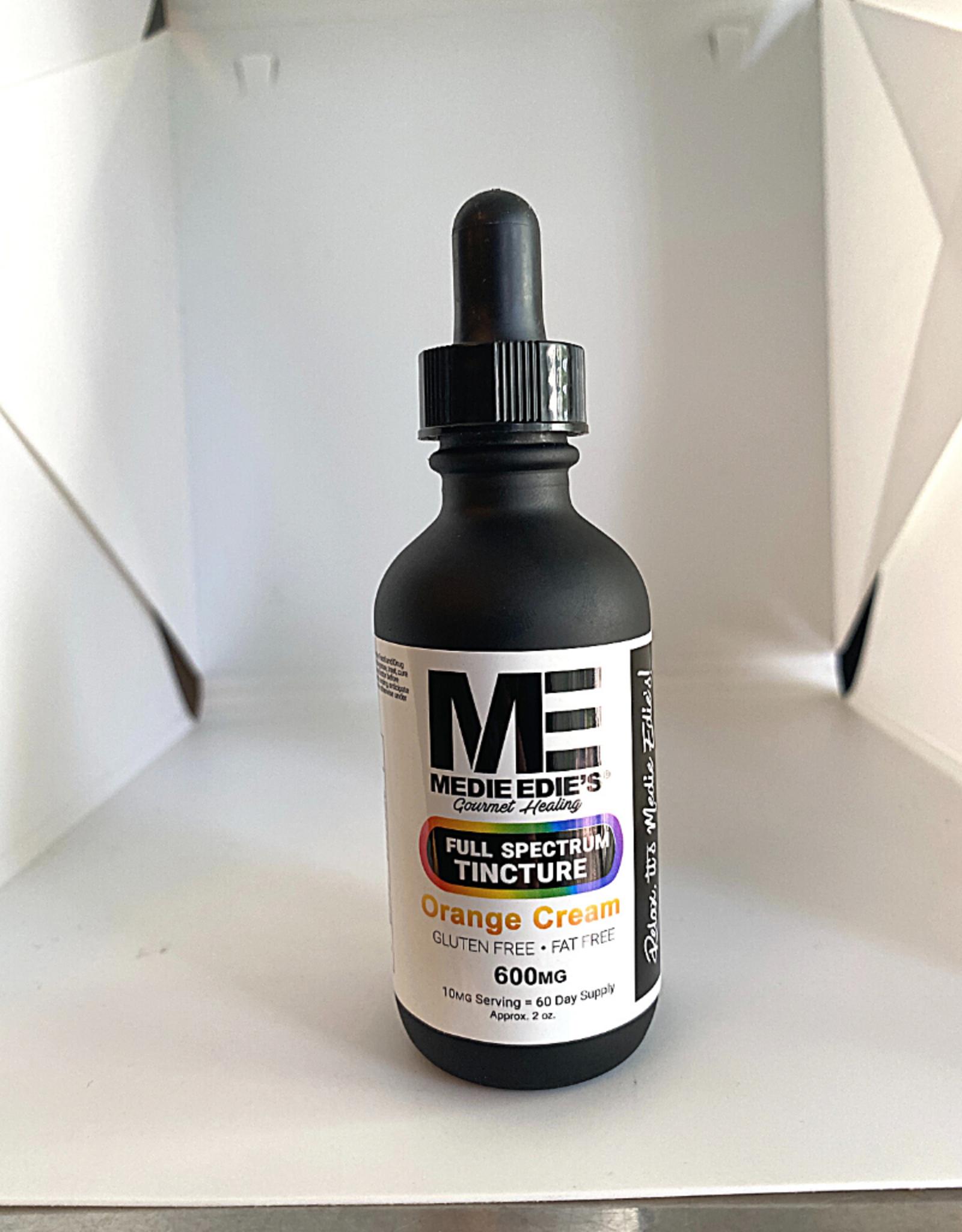 Medie Edie's Medie Edie's 60ml Full Spectrum Tincture  Orange Cream - 10mg.600mg
