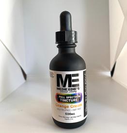 Medie Edie's 60ml Full Spectrum Tincture  Orange Cream - 10mg.600mg