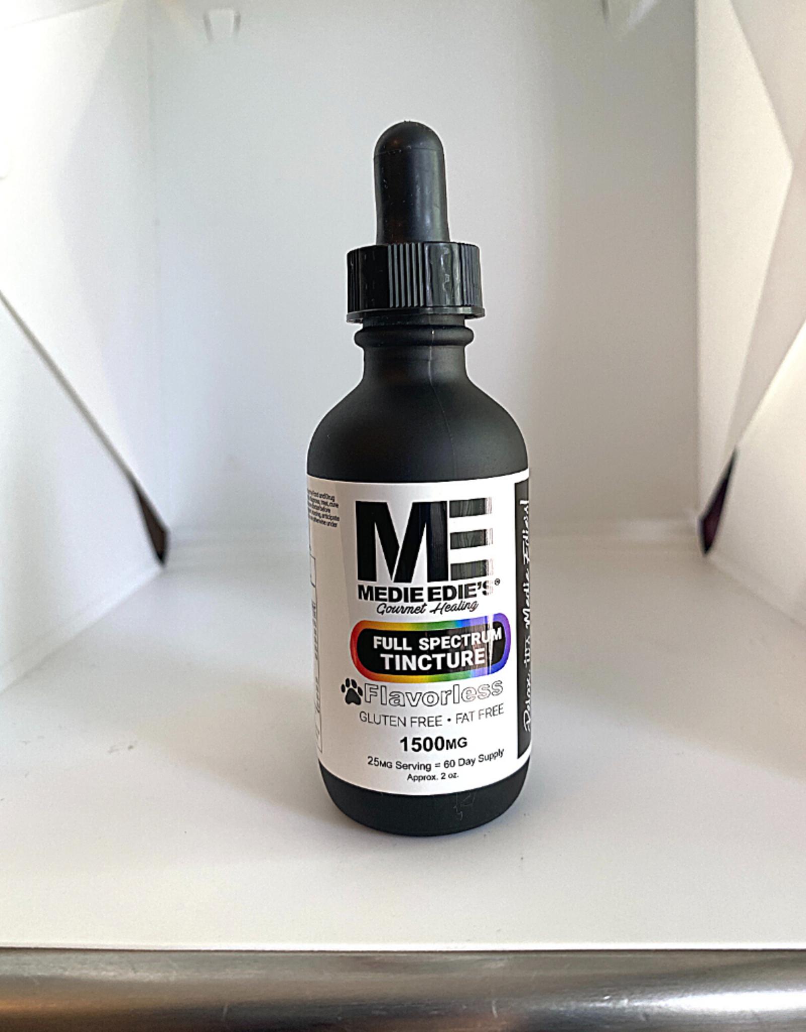 Medie Edie's Medie Edie's 60ml Full Spectrum Pet Tincture Flavorless  - 25mg.1500mg