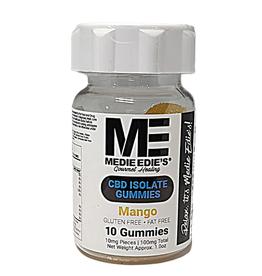 Medie Edie's Medie Edie's Mango CBD Gummies - 10ct/10mg/100mg