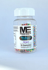 Medie Edie's Pebbled Grape CBD Gummies - 10ct/10mg/100mg
