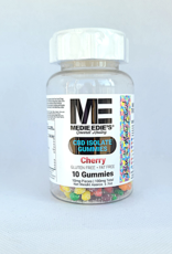 Medie Edie's Pebbled Cherry CBD Gummies - 10ct/10mg/100mg
