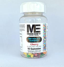 Medie Edie's Medie Edie's Pebbled Cherry CBD Gummies - 10ct/10mg/100mg