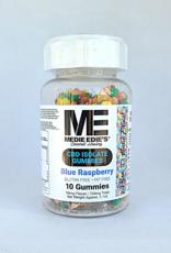 Medie Edie's Pebbled Blue Raspberry CBD Gummies - 10ct/10mg/100mg