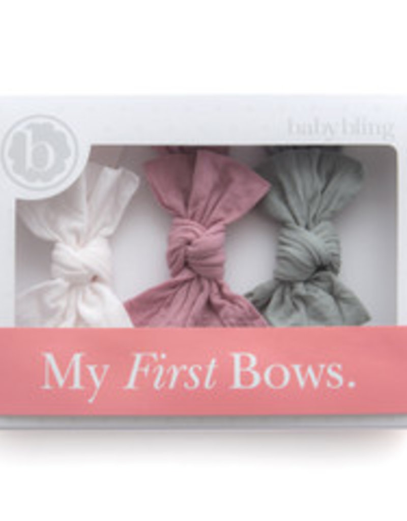 My First Bows