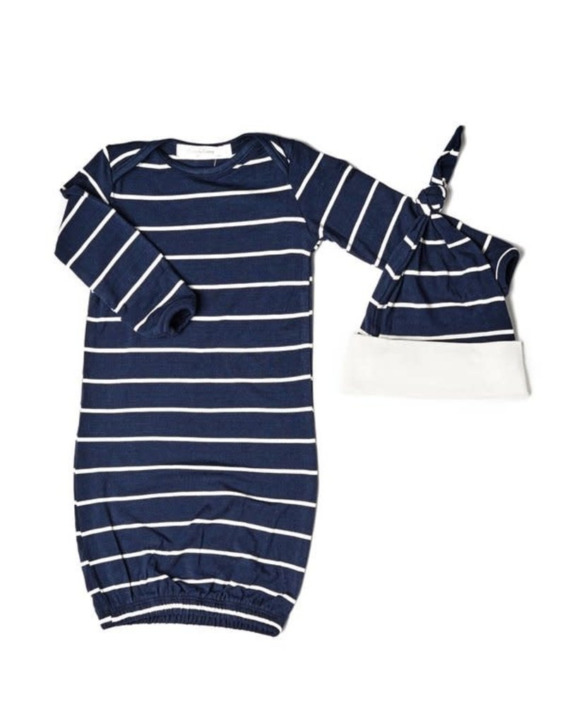 Everly Grey Analise Stripes Pajama 5 Piece Set
