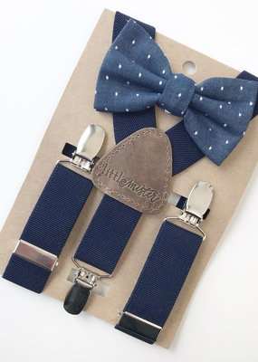 Little Mister Toddler Bow with Suspenders