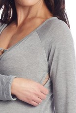 Everly Grey Amelia Maternity/Nursing Top