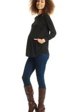 Everly Grey Sherry Maternity/Nursing Top
