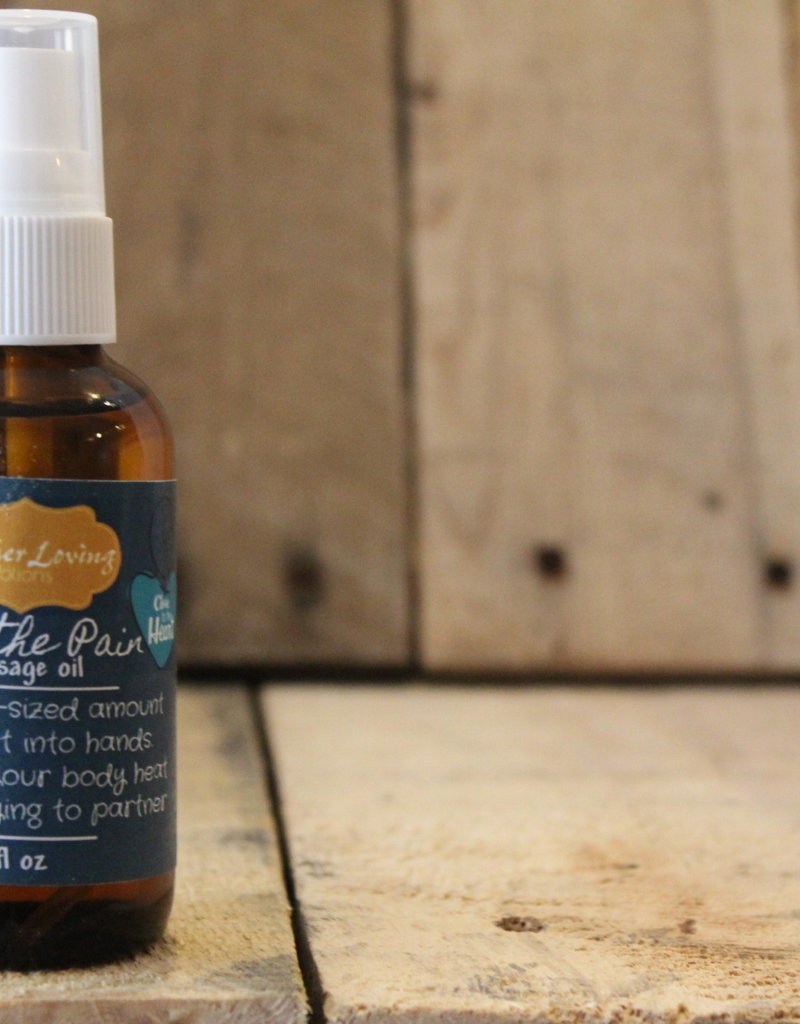 Mother Loving Potions Ease the Pain Massage Oil