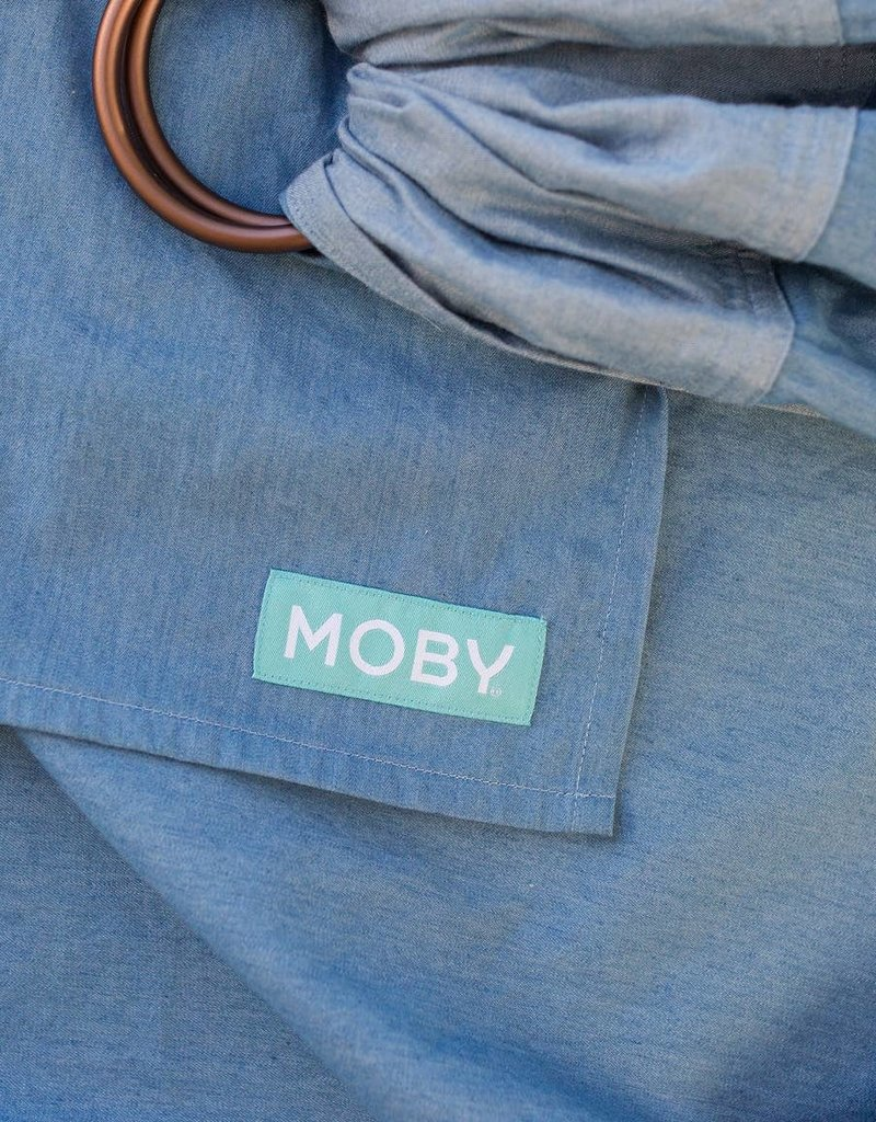 Moby Sling Chambray/Gauze