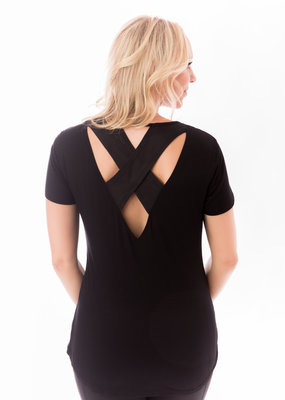 Love & Fit Cross Back Nursing Tee