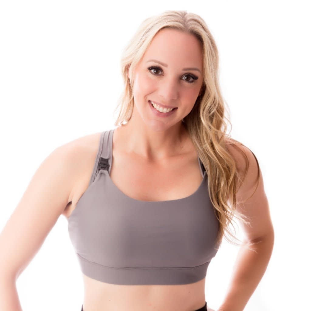 Love & Fit All In One Nursing & Hands-Free Pumping Sports Bra