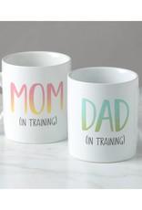 Kate & Milo Mom and Dad in Training Mug Set
