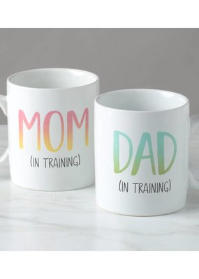 Mom and Dad in Training Mug Set