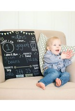 Kate & Milo Photo Prop Milestone Chalkboard