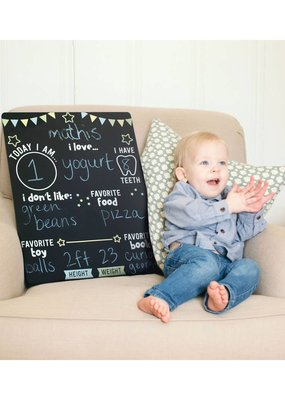 Kate & Milo Photo Prop Milestone Chalkboard