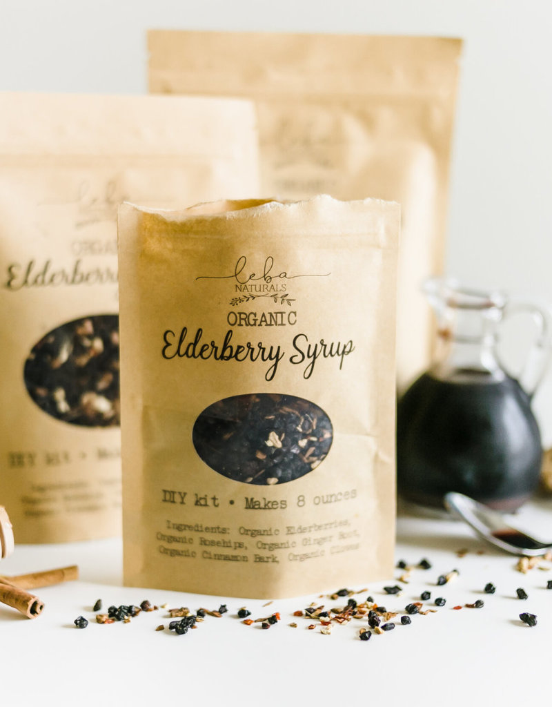 Leba Naturals Elderberry Syrup DIY Packet