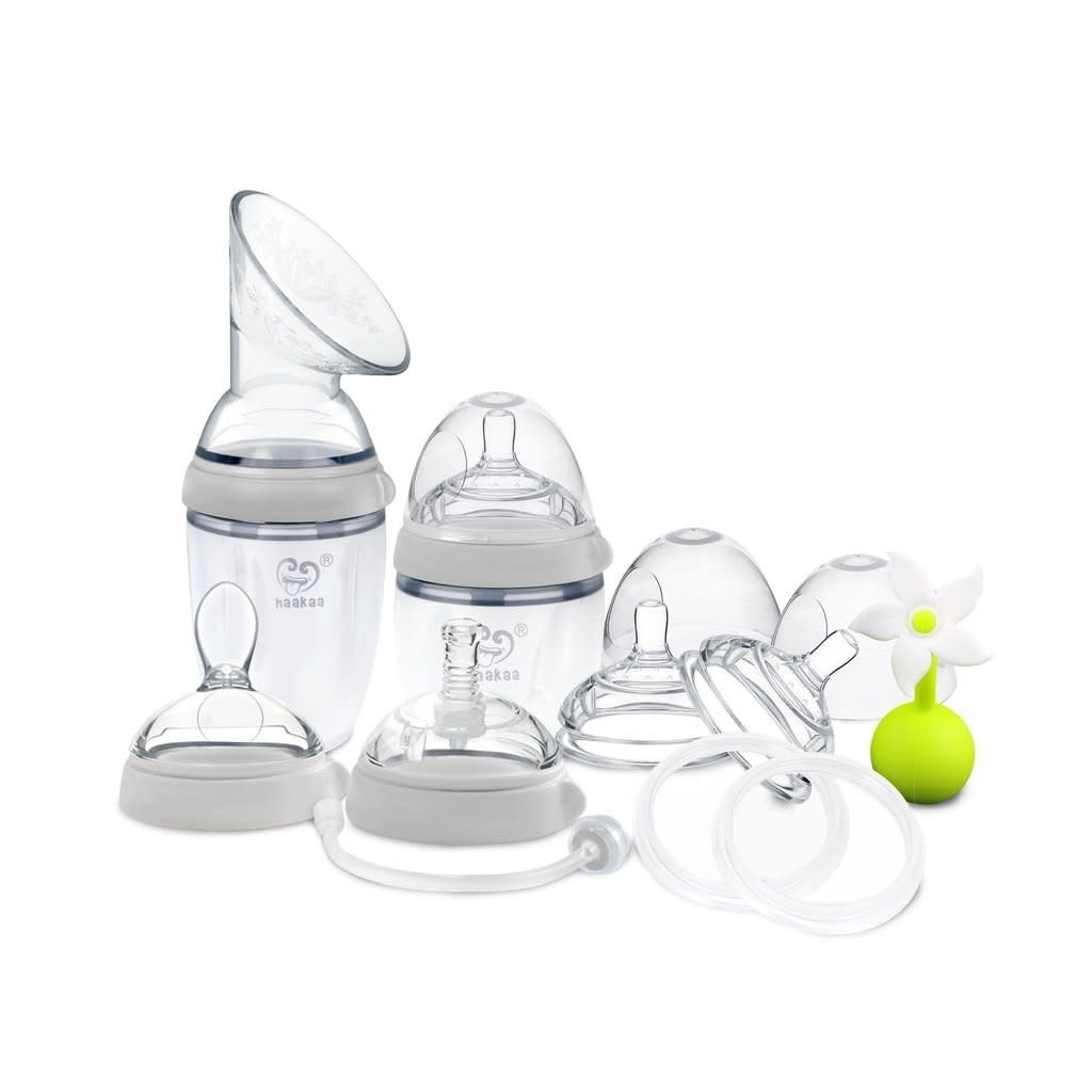 Haakaa Gen 3 Breast Pump & Bottle Pack