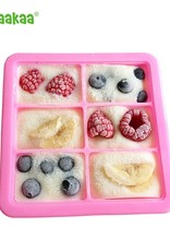 Haakaa Silicone 4x Cup Food Tray with Lid