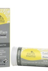 Earth Mama Organics Lady Face Mineral Sunscreen Face Stick SPF 40 - Earth Mama Organics