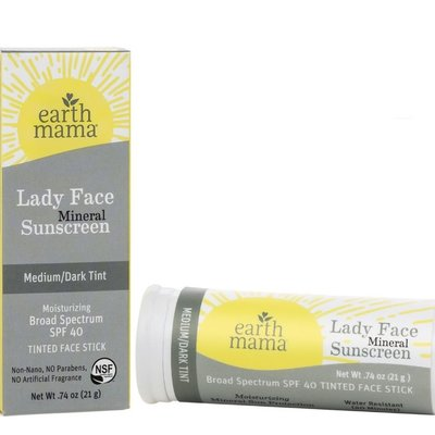 Earth Mama Organics Lady Face Mineral Sunscreen