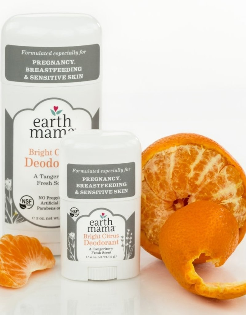 Earth Mama Organics Deodorant 3 oz - Earth Mama