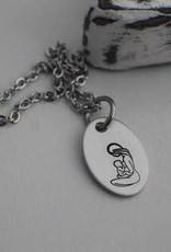 Like Mother Like Daughter Jewelry Breastfeeding Mom Necklace