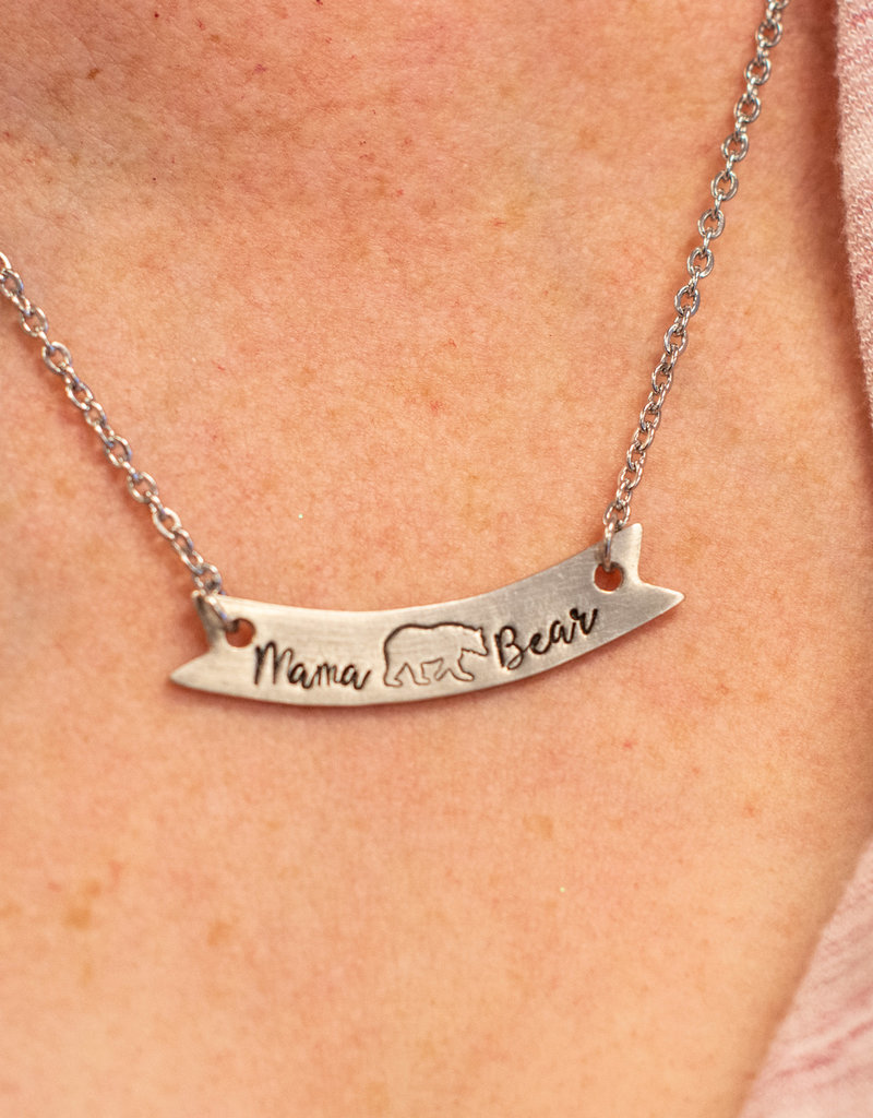 Like Mother Like Daughter Jewelry Mama Bear Necklace