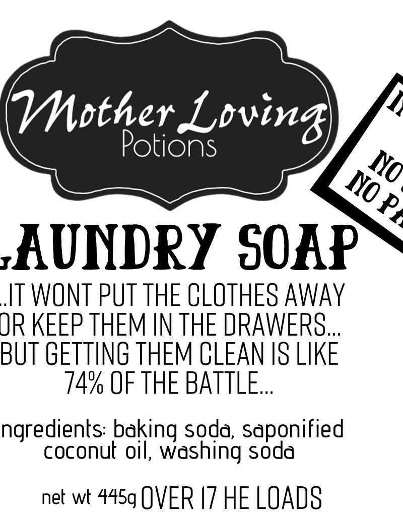 Mother Loving Potions Laundry Soap