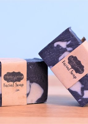 Mother Loving Potions Facial Soap - Charcoal, Neem, Tea Tree